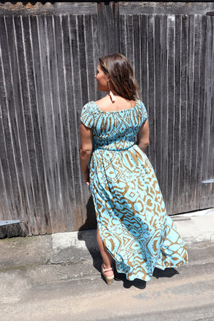 RO Day off Maxi Dress In Amazon