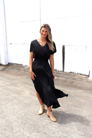 Brooklyn Maxi Dress In Black