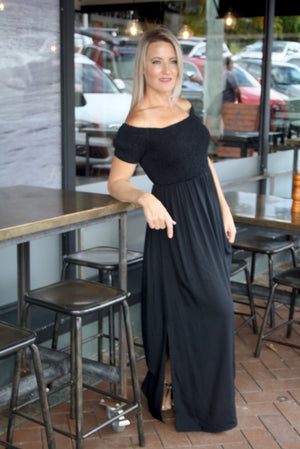 Day Off Maxi Dress In Black
