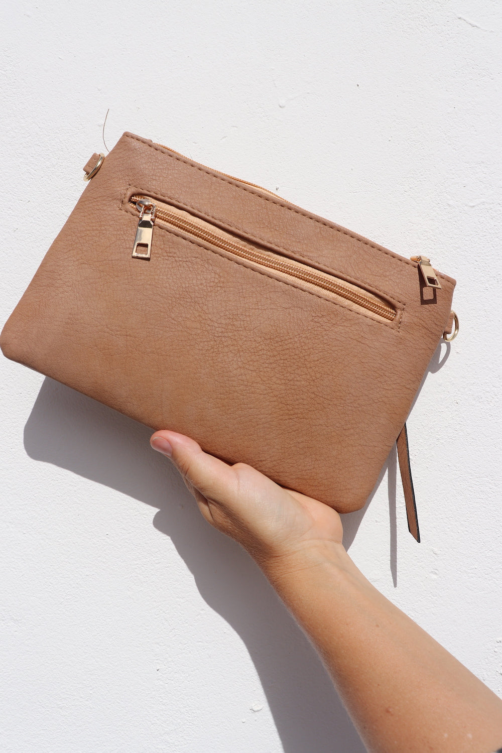Malta Handbag In Tan
