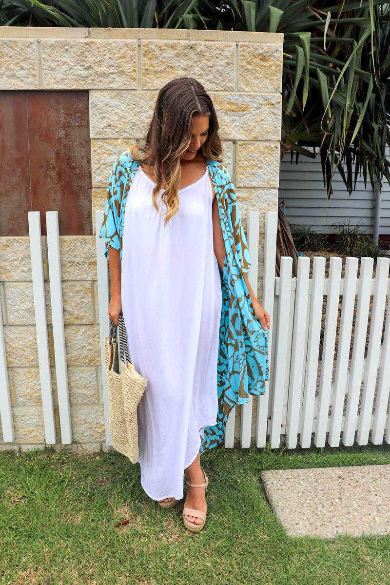 RO Sweet Summer Maxi In White