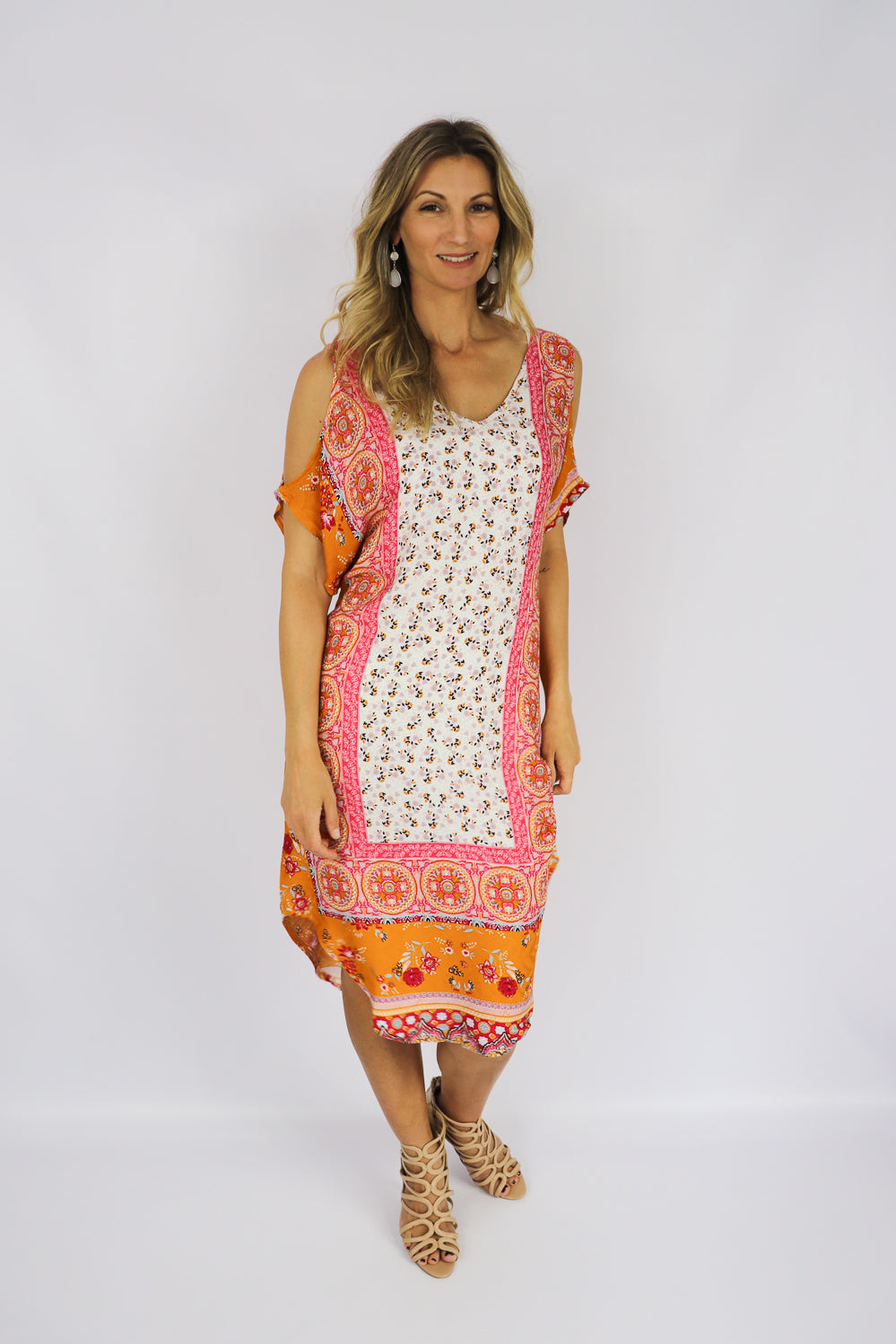 RO Orange Sherbet Dress
