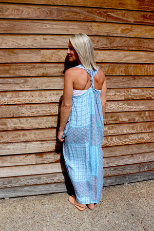 Whitehaven Maxi In Blue Patch
