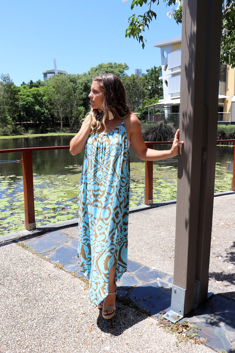 RO Sweet Summer Long Maxi In Amazon