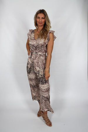 RO Butterflies In Kenya Jumpsuit