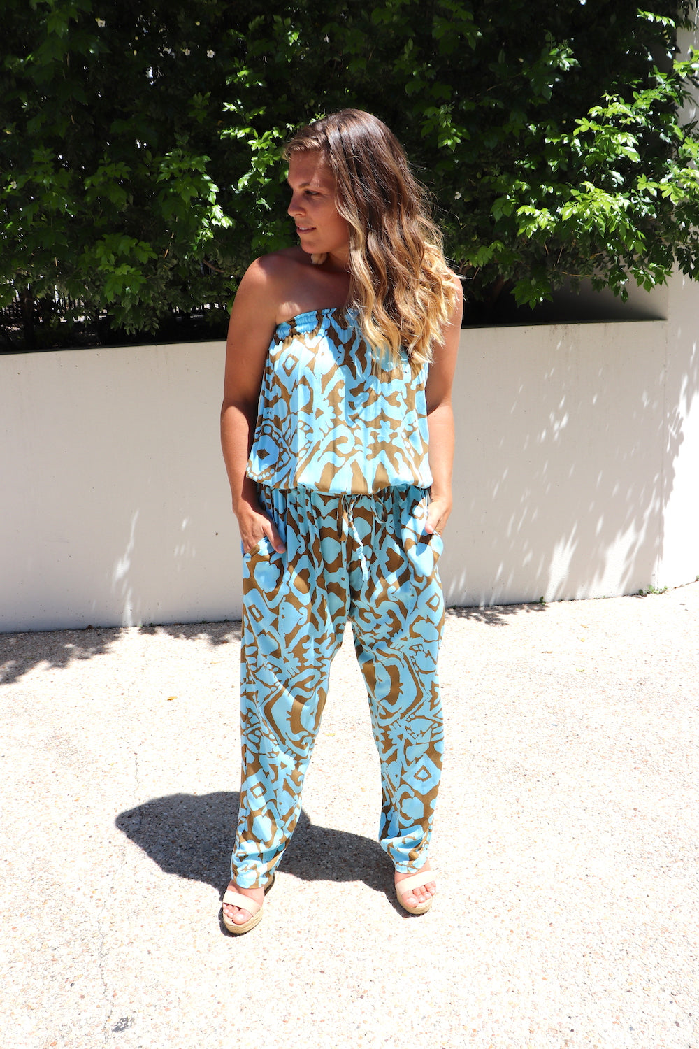 RO Living It Up Long Jumpsuit In Amazon