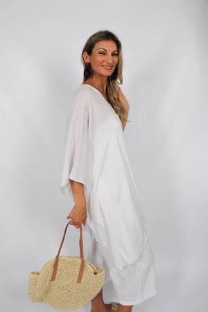Short Tunic In White