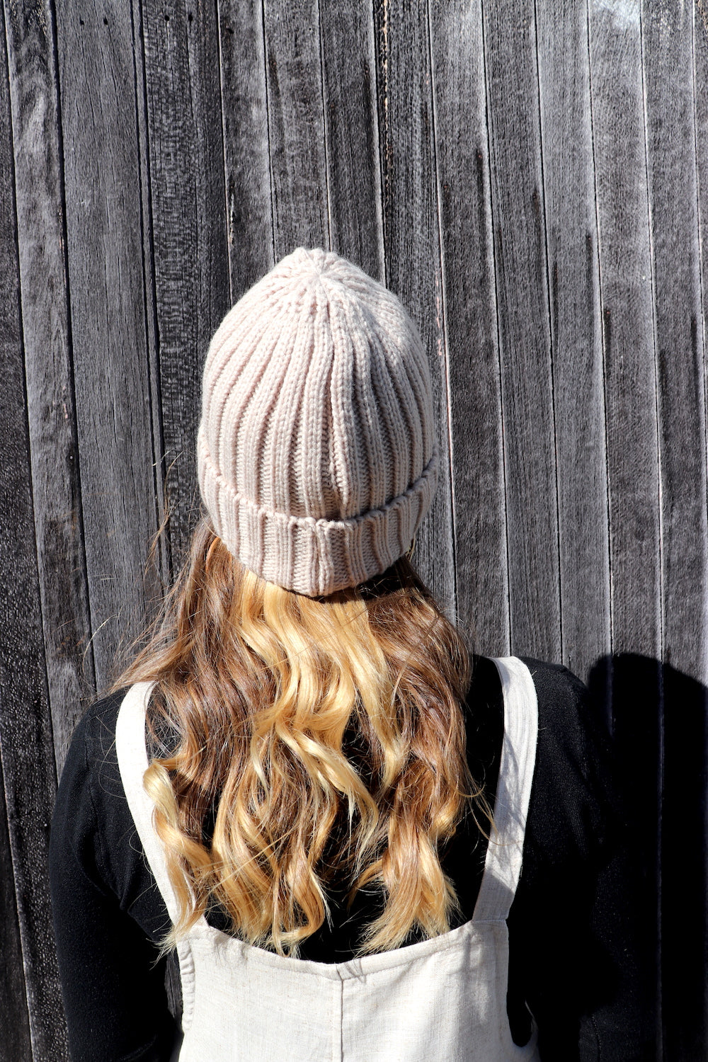 Winter Beanie in Biscuit