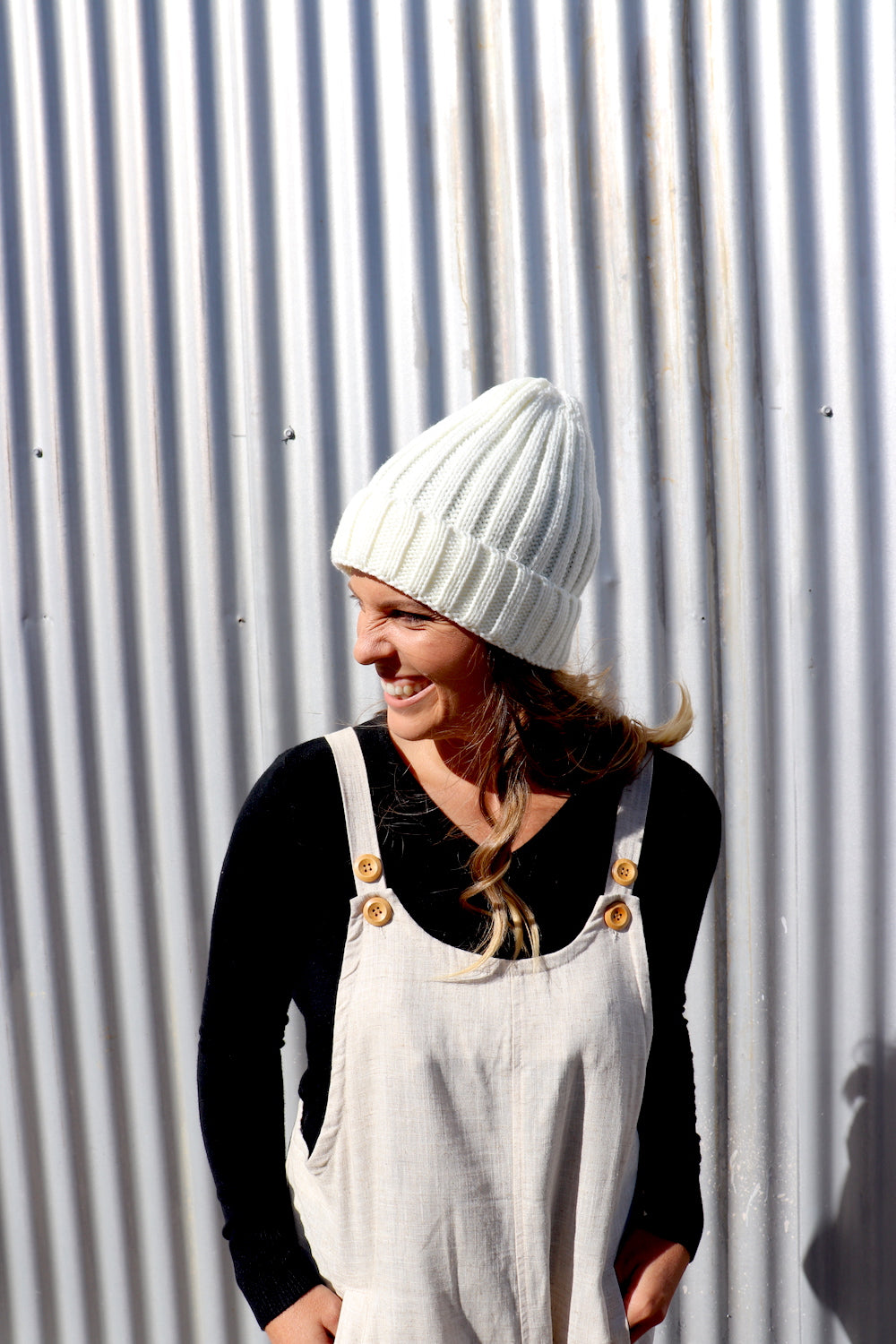 Winter Beanie in Cream