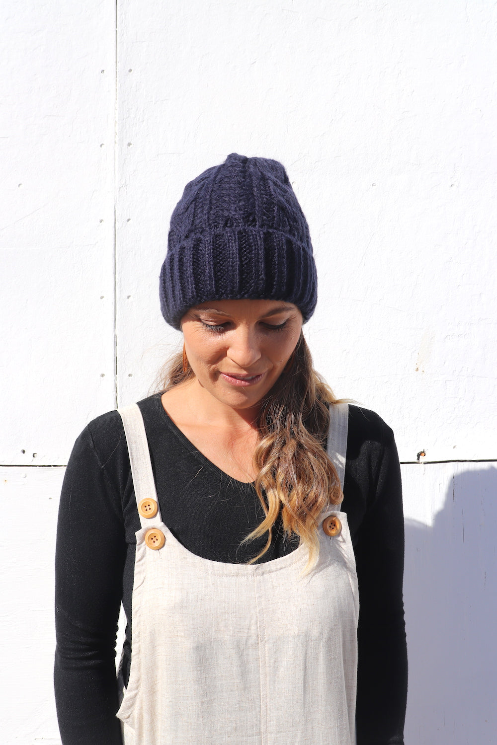 Winter Beanie in Navy