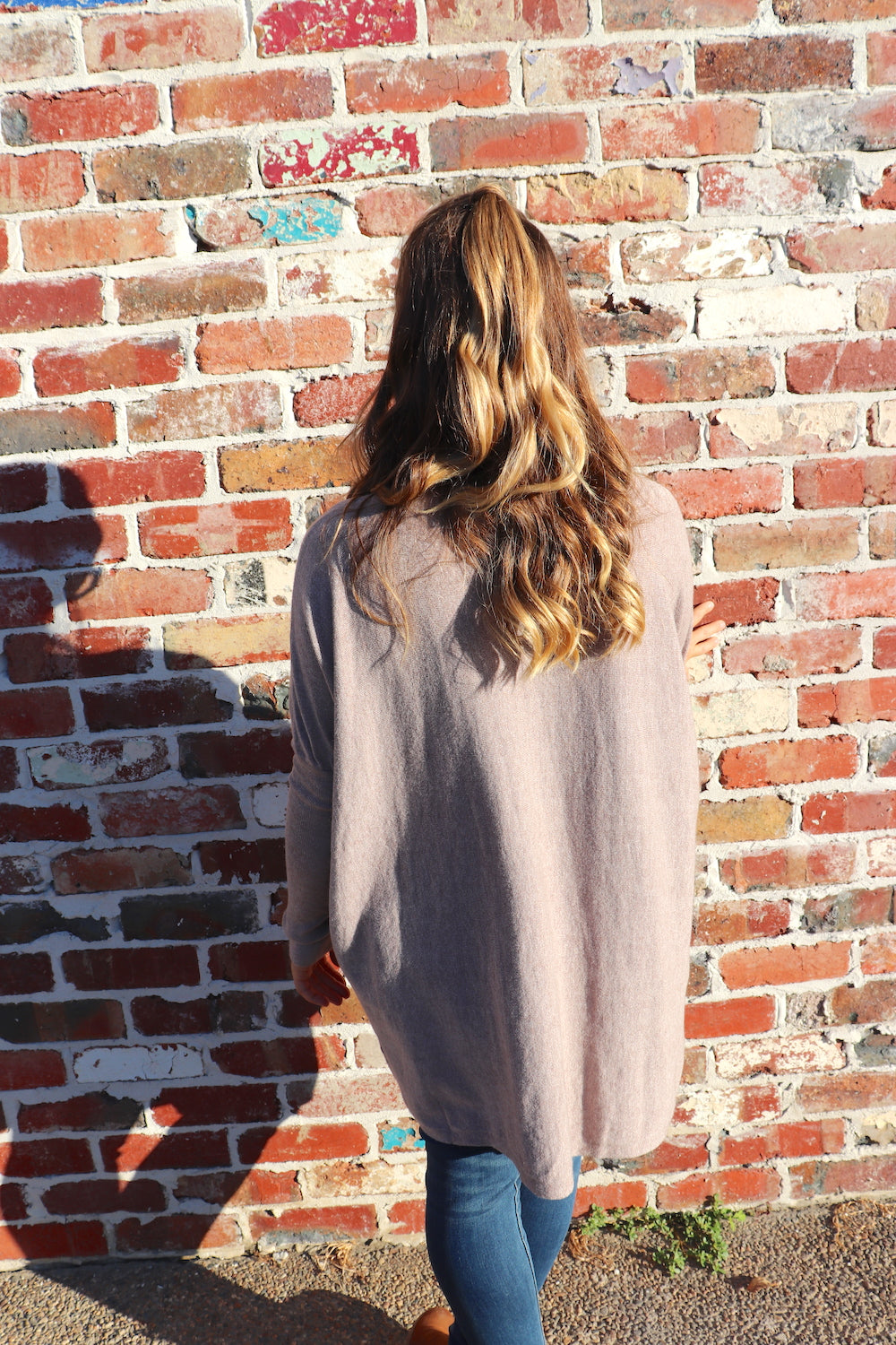 Free Flowing Oatmeal Sweater