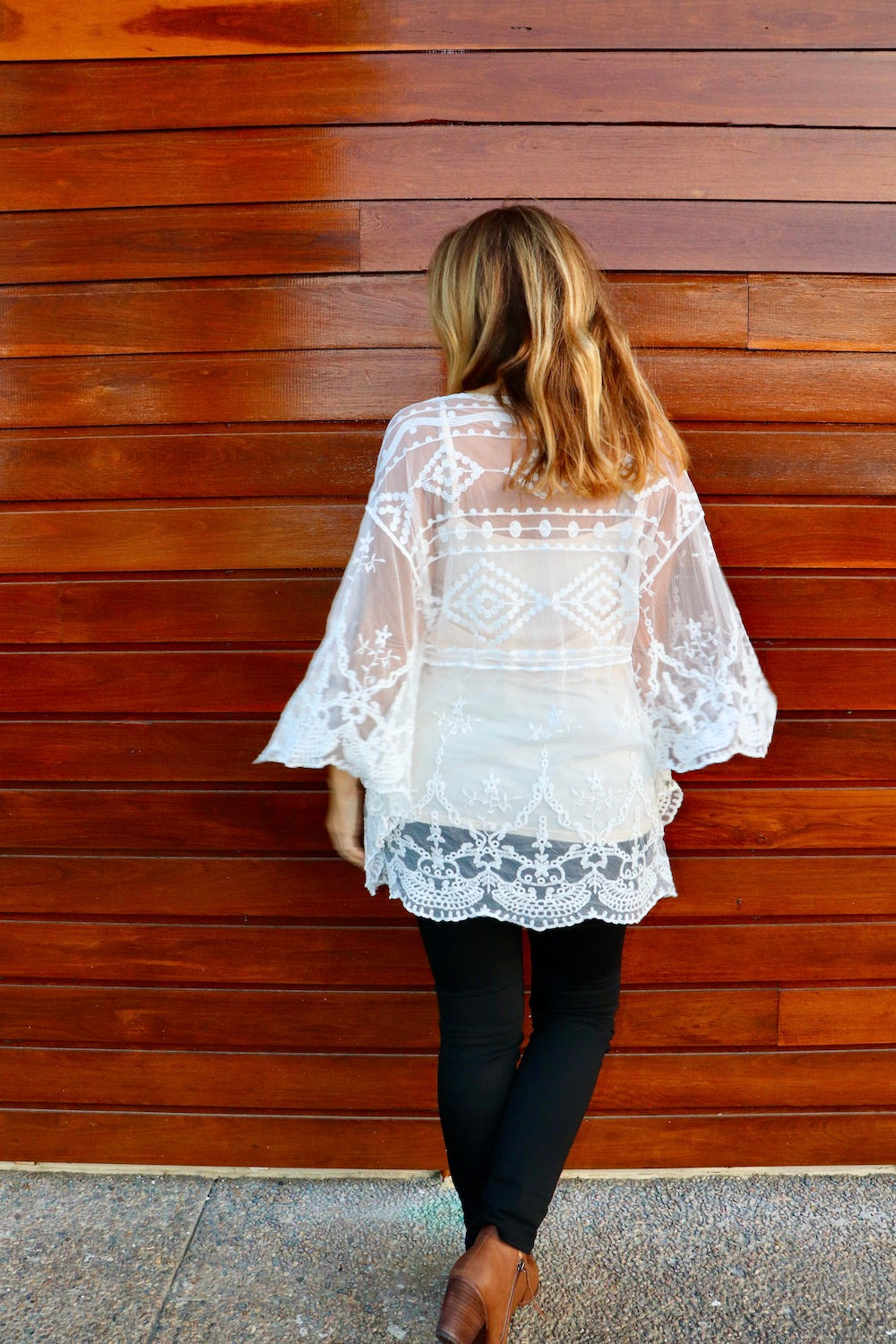 Angelica Lace Tunic Top