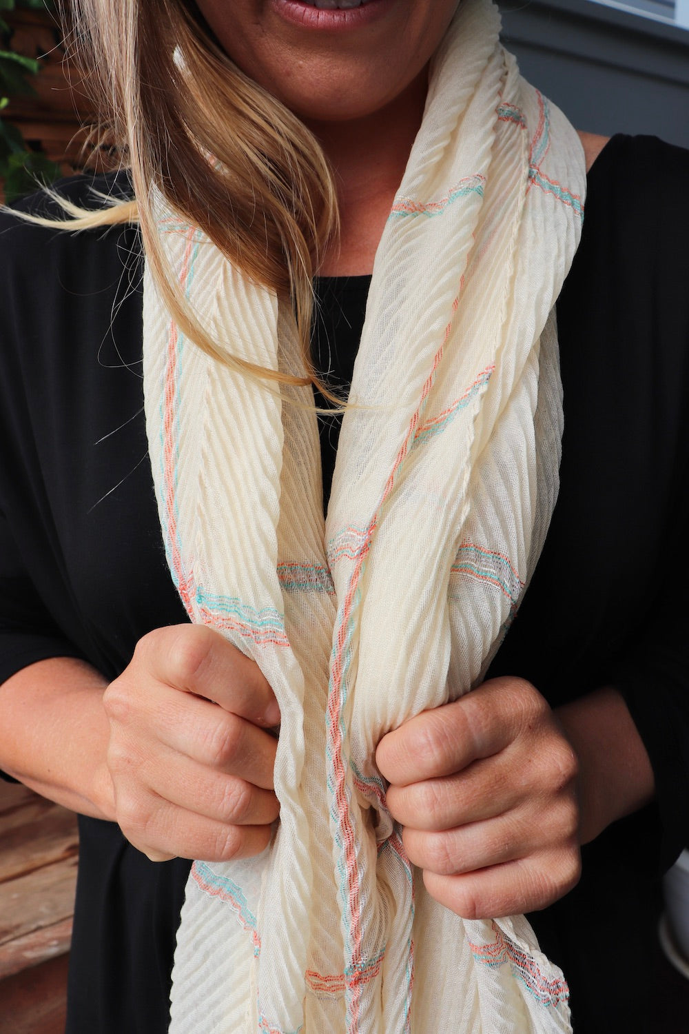 Everyday Scarf Beige/Cream