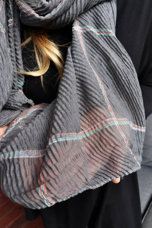 Everyday Scarf Charcoal