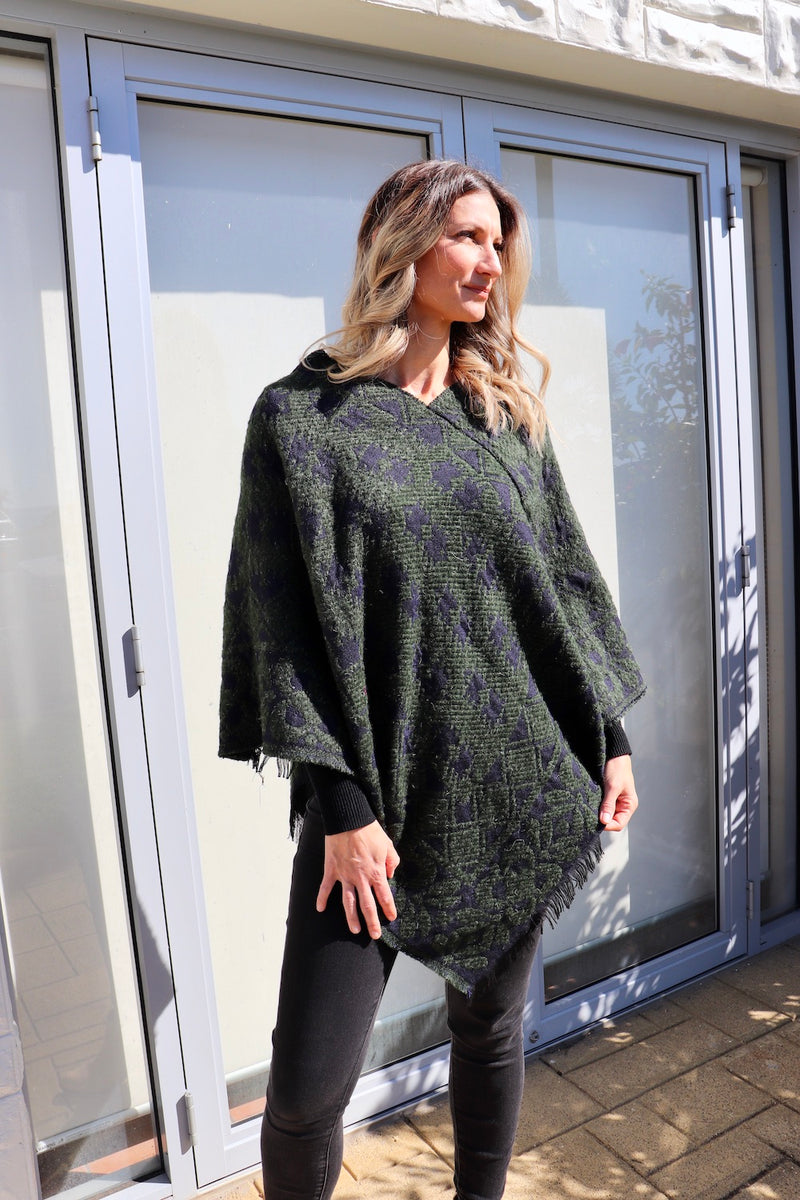 Emerald City Poncho