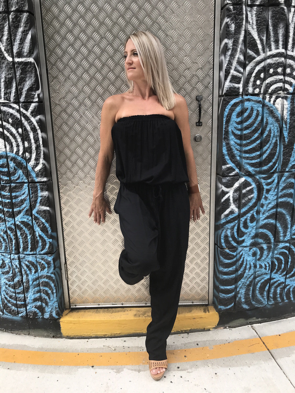 RO Living Up Jumpsuit In Black