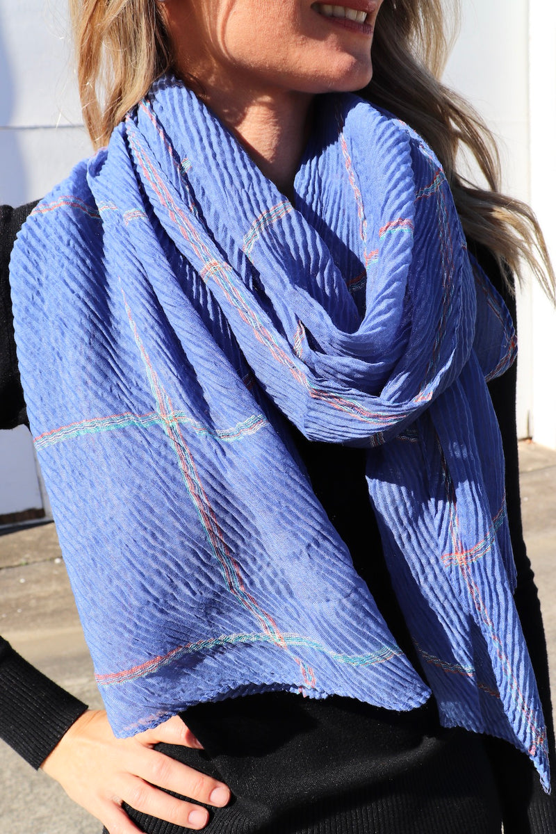 Everyday Scarf in Sky Blue