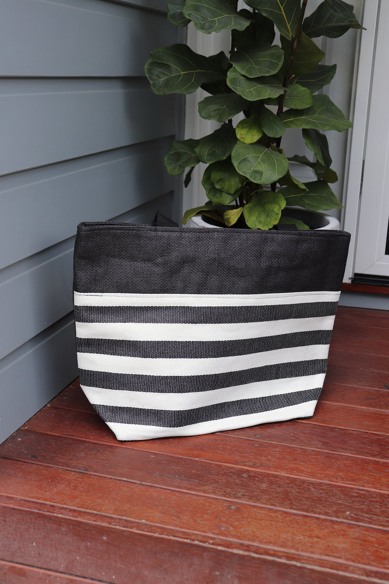 Monaco Beach Bag - Black