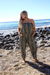 Africa Long Jumpsuit In Grey