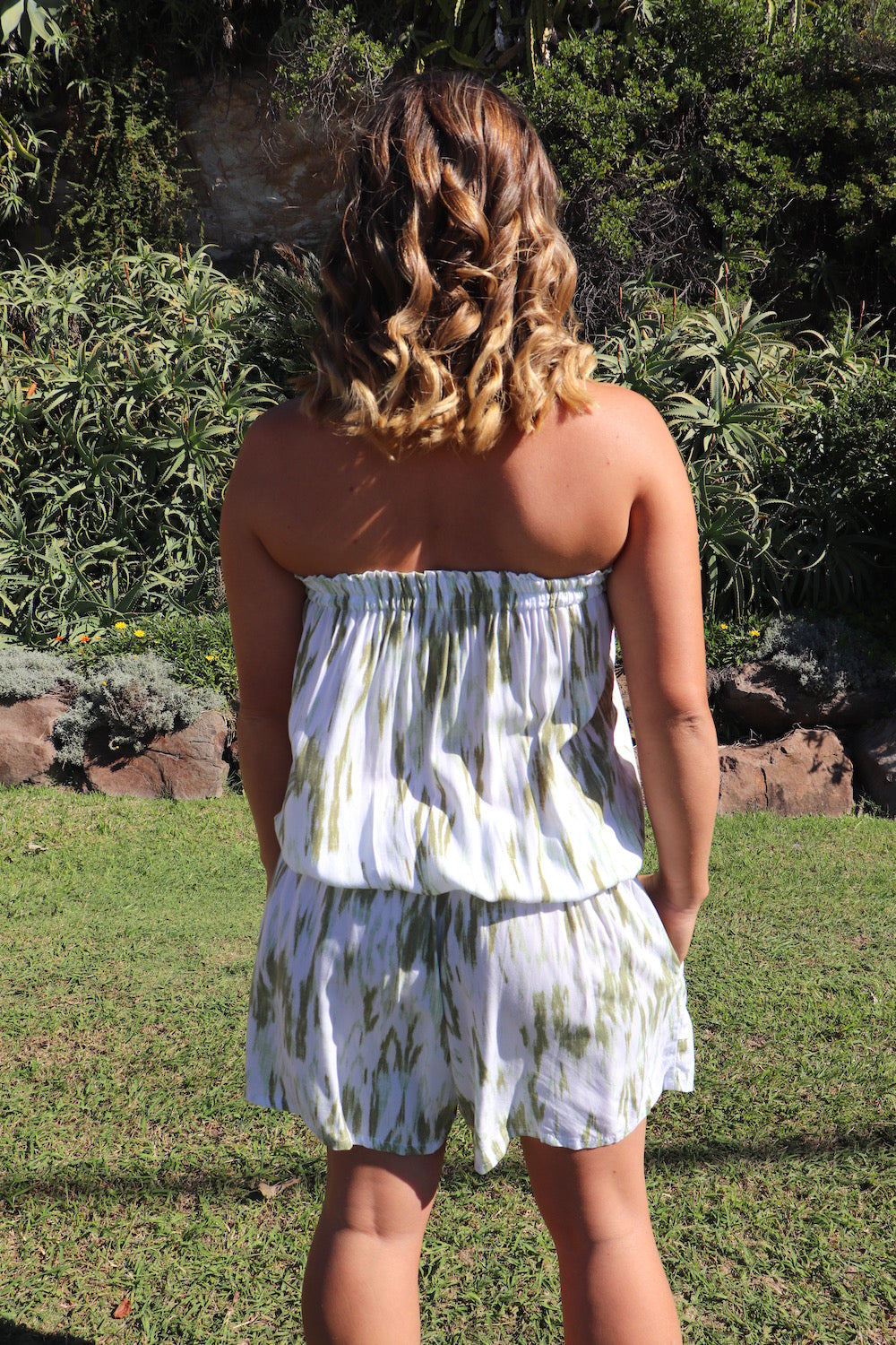 Maldives Jumpsuit In Olive