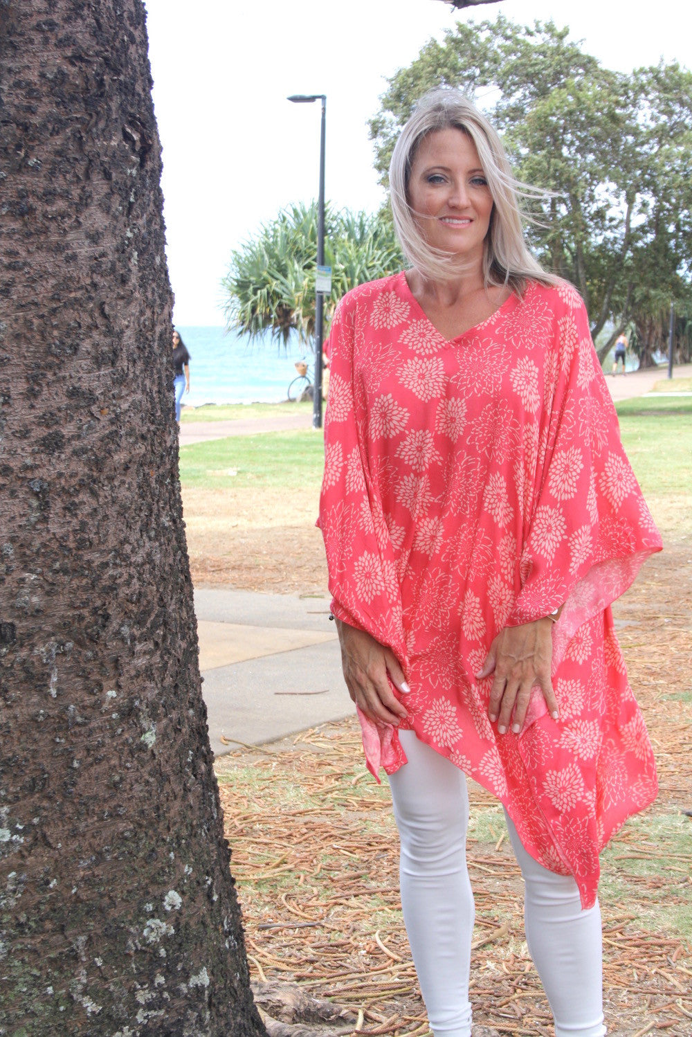 Short Tunic - Coral
