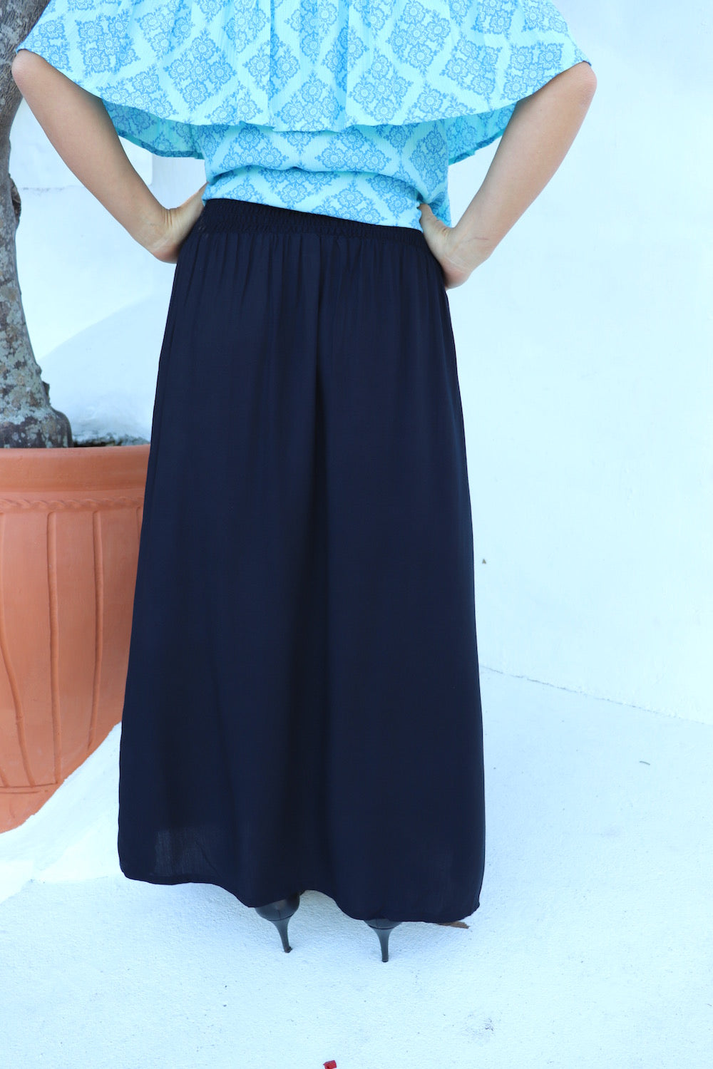 Merci Maxi Skirt In Black