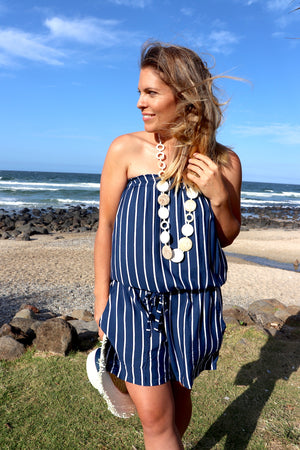 Maldives Short Jumpsuit In Rivera