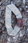Beaded Belt in Biscuit