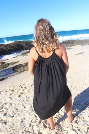 Short Mariah Dress In Black