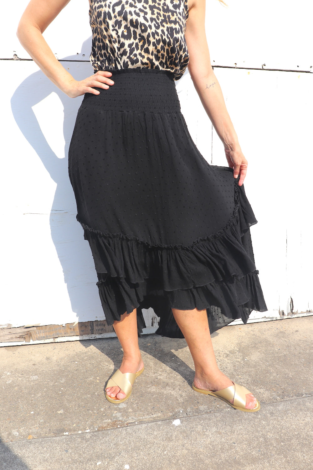 RO Salsa Skirt In Black