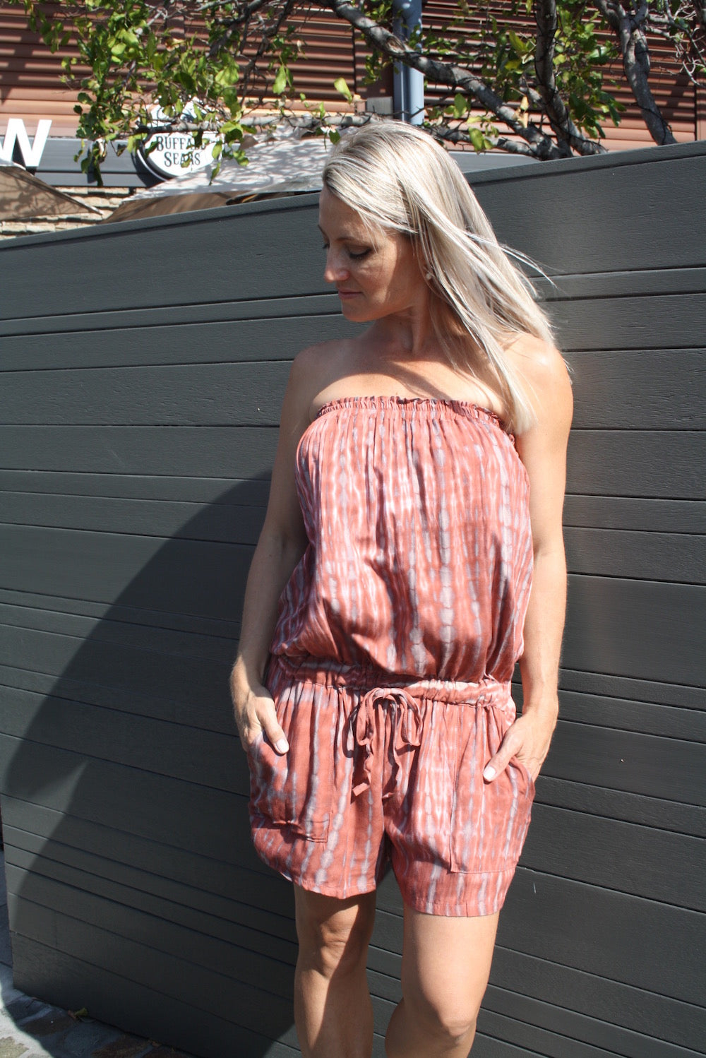 Maldives Jumpsuit - Teardrop Sienna
