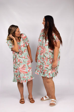 RO Elaine Dress In Paradise