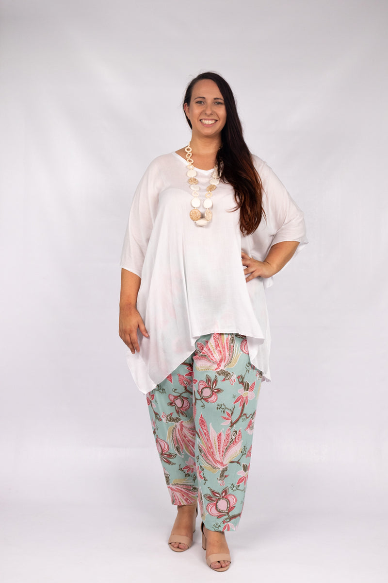 RO Short Tunic In White