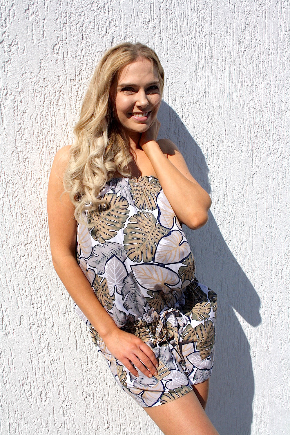 Maldives Jumpsuit - Tropicana Taupe