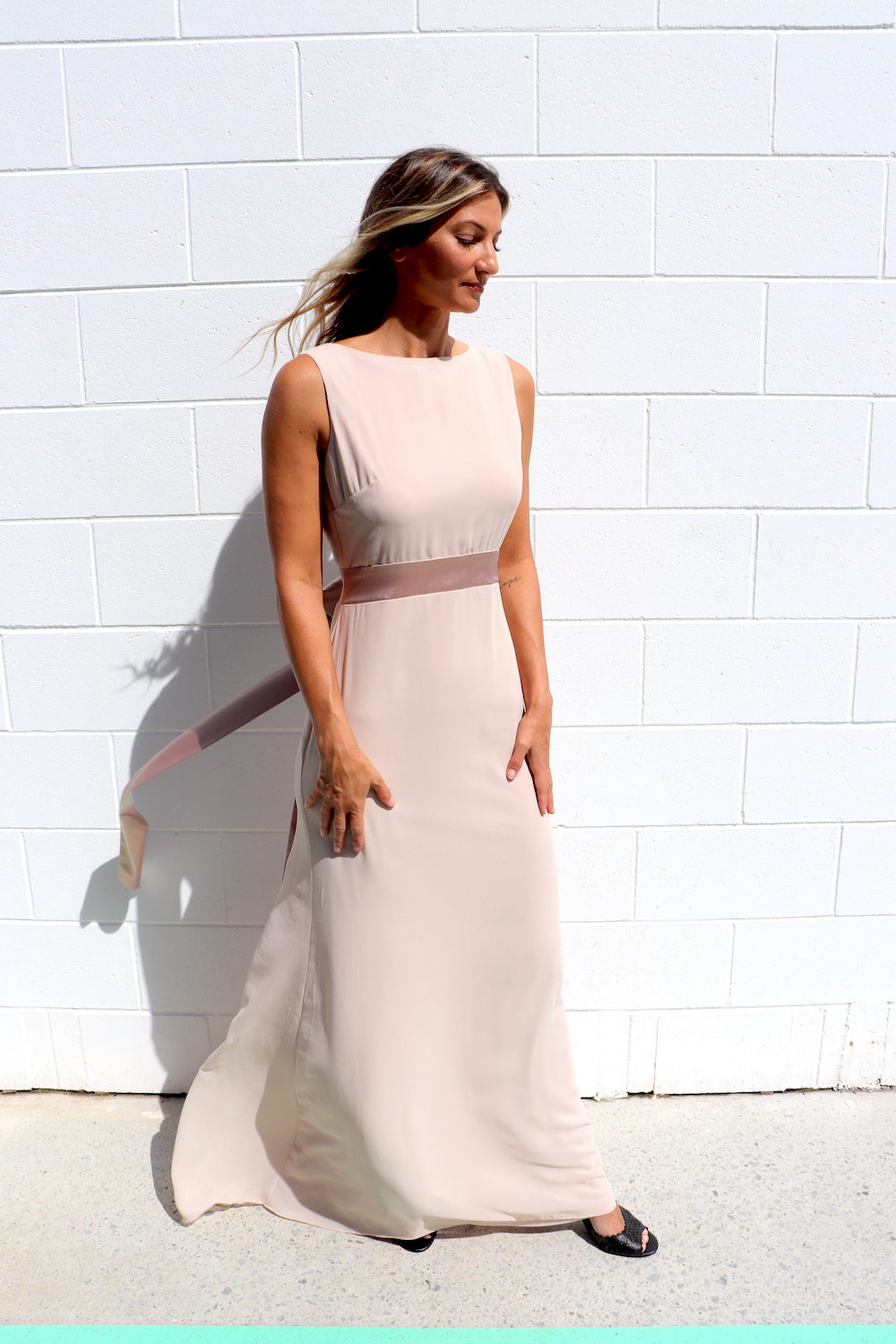 Diana Dress In Champagne