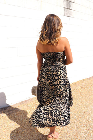 Florence Strapless Dress In Africa