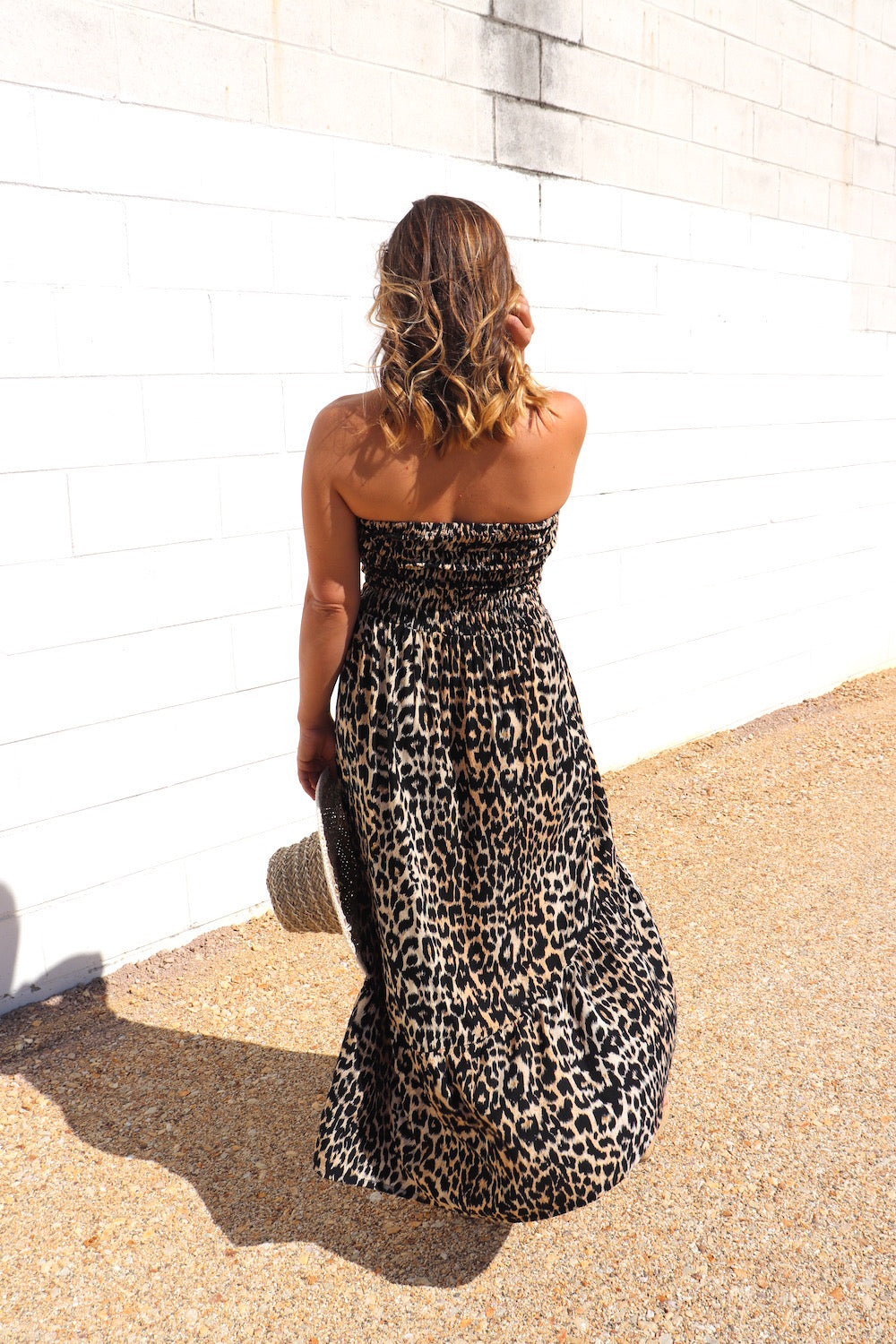 RO Florence Strapless Dress In Africa
