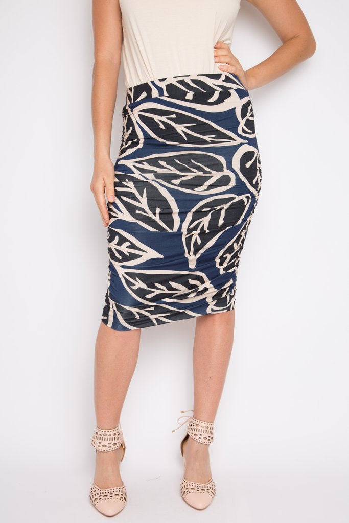 RO Large Leaf Ruche Skirt