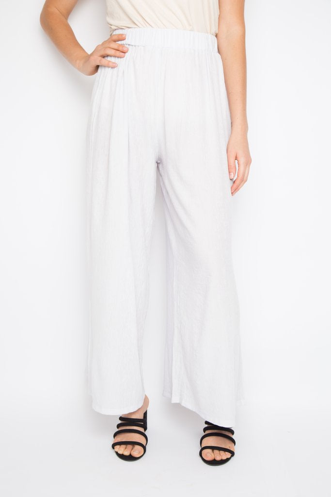 RO Wide Leg Long Pant In Water Lily