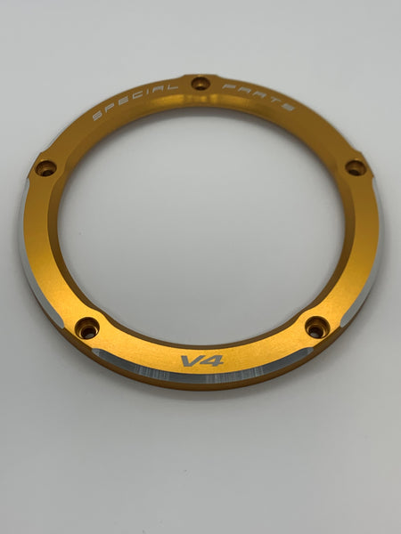 AG01 - V4 Panigale & Streetfighter Clear Clutch Cover Outer Ring Replacement Part - Ducabike.com.au