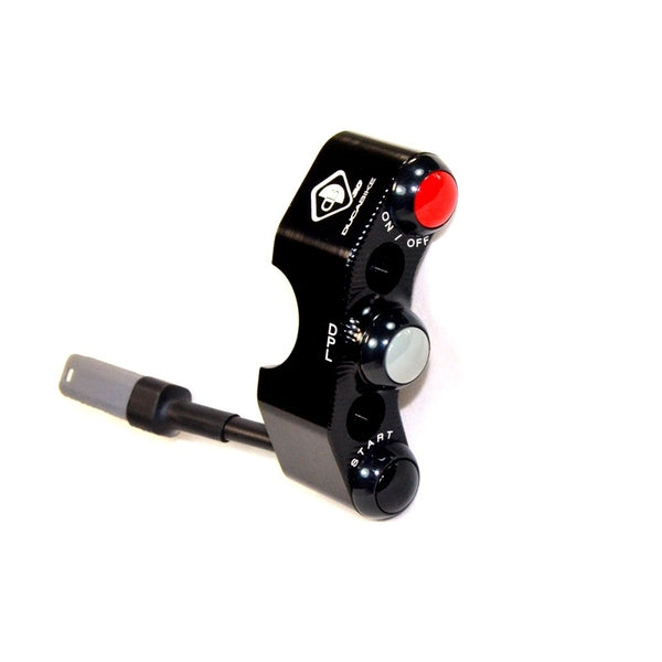 CPPI07 - V4 BREMBO RADIAL MASTER CYLINDER BRACKET WITH INTEGRATED BUTTONS - Ducabike.com.au