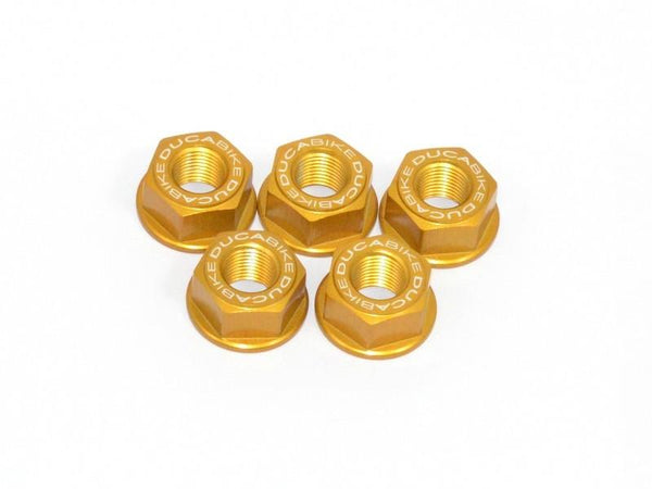 5DSB03 - SPROCKET CARRIER NUT SET M10 X 1.25 - Ducabike.com.au
