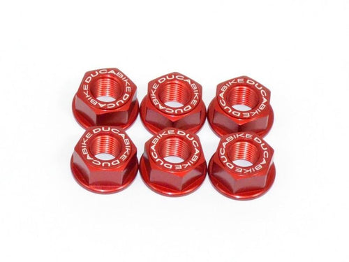 6DSB02 - SPROCKET CARRIER NUT SET M10X1.25 - Ducabike.com.au