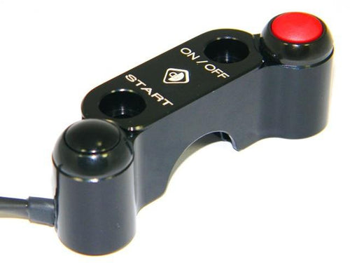 CPPI01 - Brembo Radial Master Cylinder Bracket  With Integrated Buttons - Ducabike.com.au