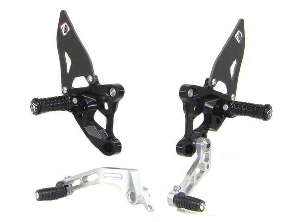 PRSBK01 - Adjustable Rearsets - Superbike - Ducabike.com.au