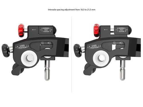 L01 ULTIMATE - BRAKE & CLUTCH LEVERS WITH DOUBLE ADJUSTMENT - Ducabike.com.au