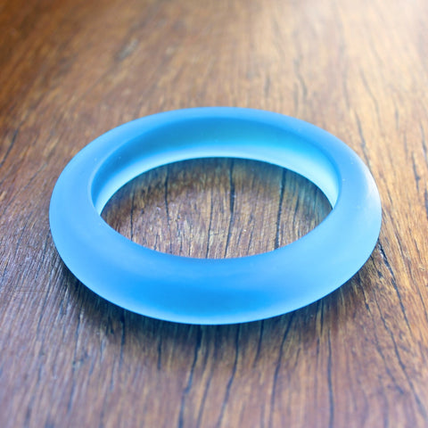 Blue (Translucent) 15mm Resin Bangle