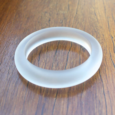 Clear 15mm Resin Bangle