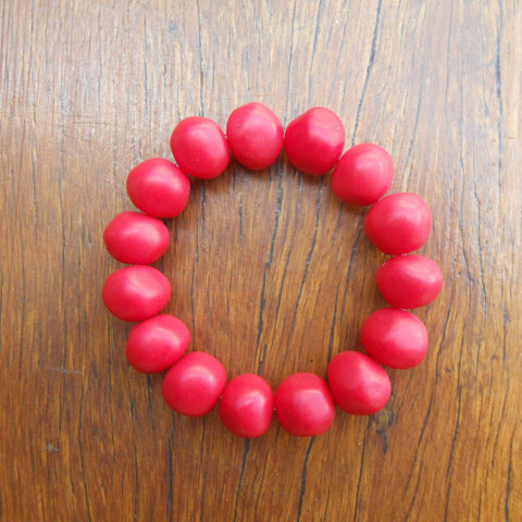 Red Nugget Bracelet