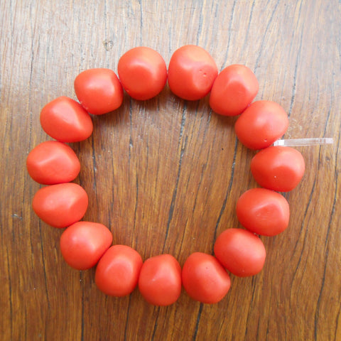 Orange Nugget Bracelet